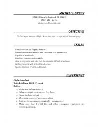 Flight Attendant Resumes Cover Letter For Cabin Crew Emirates Nc