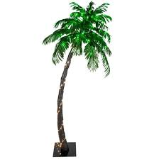 lighted palm trees for patio 6 led curved lighted palm tree lighted palm trees for patio