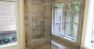 how to clean shower door best way doors learn the glass with hard water deposits