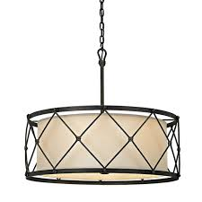 cage lighting. Tied Cage Drum Chandelier - 6 Lights Aged_pewter Lighting T