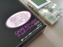 Famitsu Skeleton Game Boy Light Game Boy Light Famitsu Mail Order Version Only 500 Pcs