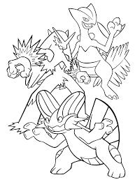 Pokemon Coloring Page Mega Tyranitar Ex Coloriage Méga Kangourex