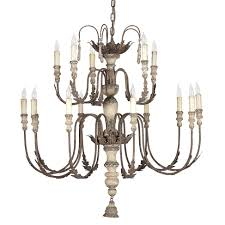 french country lighting. Katrina Antique Silver French Country 14 Light Chandelier Lighting