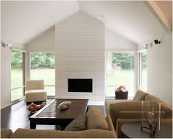 beautiful lighting pendant lamp white fireplace mantel bookshelf minimalist studio apartment square brown high gloss wood
