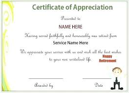 Example Of A Certificate Of Employment Free Certificates Of Appreciation For Employees Editable Samples