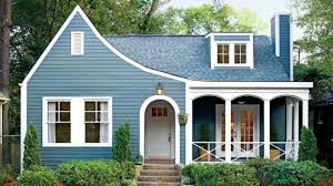 small house paint color. The Best Exterior Paint Colors For Small Houses Soft Blue House Color L