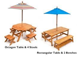 Top Of Picnic Table Umbrellas  CsublogscomChildrens Outdoor Furniture With Umbrella