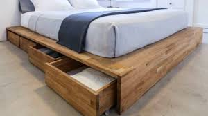 bed storage ideas   amazing design for bed frame storage