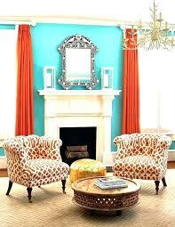 orange living room accessories blue and orange living room orange living room decor orange window treatments