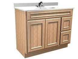 Briarwood Woodland 42 W X 18 D Bathroom Vanity Cabinet At Menards