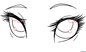 Small Picture How To Draw Anime Eyes Eyesjpg Coloring Pages Maxvision