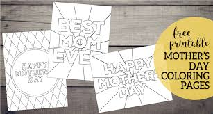 It is an annual event these free mother day coloring pages to print will make perfect homemade gift for you on the mother's day. Free Printable Mother S Day Coloring Pages Paper Trail Design