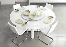 modern round extendable dining table expandable round dining table modern