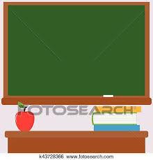 teacher desk clipart. Delighful Teacher Clip Art  Chalkboard Teacher Desk Books And Apple Fotosearch Search  Clipart On Teacher Desk A