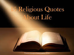 Religious Quotes On Life Fascinating 48 Religious Quotes About Life