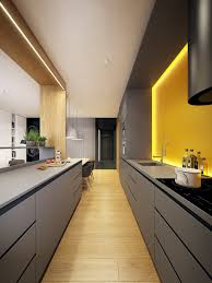 Kitchen Designs: Japanese Style Kitchen Grey And Wood - Grey