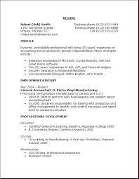Resume Simple Sample Best of Outline Of A Resume 24 For High School Students