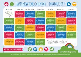Happy New Year Calendar