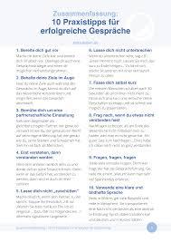 10 Praxistipps F R Erfolgreiche Gespr Che Zeit Zu Leben