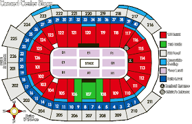 Giant Center Seating Chart 21 Unmistakable Giant Center Seating Chart End Stage