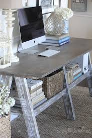 cool home office ideas mixed. Love The Old Farm Table Mixed W/ High Tech Devices. Perfect Blend Of New And Old. Rustic Home Office Or Workspace Cool Ideas V