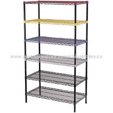 Plastic Coated Wire Racks China Plastic Coated Wire Shelving from Changshu Manufacturer 36