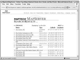 Oziexplorer Marine Charts Reviewing Topographic Map Web Sites Gps