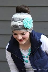 Ponytail Hat Crochet Pattern New Ponytail Hat Crochet PatternMessy Bun Hat Pattern Daisy Cottage