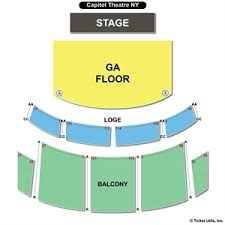 capitol theatre port chester seating charts