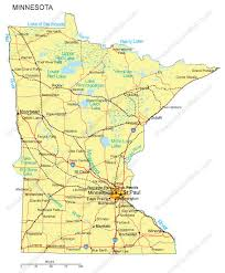map of minnesota cities black Mn Highway Map minnesota powerpoint map countie mn highway map pdf