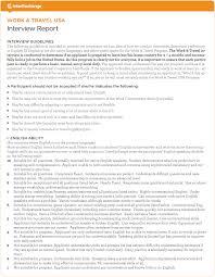 appendix interexchange interview report