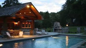 pool house plans ideas. View In Gallery Cabin Style Pool Design Idea House Plans Ideas