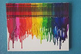 Melted Crayon Art {Tutorial}