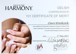 nail harmony education uk