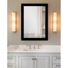 black framed bathroom mirrors. Matte Black Framed Bathroom / Full Length Mirror Mirrors M