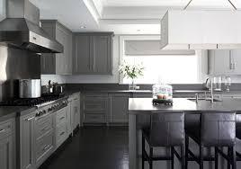 gray kitchen cabinets concrete countertops