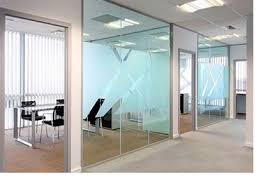 office dividers glass. aluminium and glass office partitions sydney dividers d