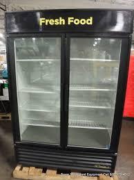 true gdm 49 2 door glass refrigerator merchandiser
