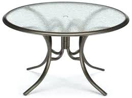 glass top patio dining table telescope casual glass top round dining table with umbrella hole glass