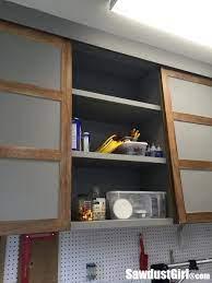 easy diy sliding doors for cabinets