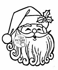 Small Picture Printable Claus Santa Claus Coloring With Happy Kids Coloring