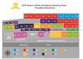 Woodbine Grandstand Seating Chart 2019 Queens Plate