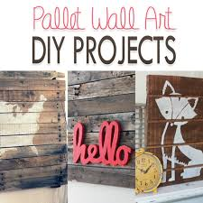 these awesome diy pallet wall art projects are great weekend projects to add new decoration to
