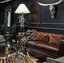 bachelor pad furniture. manly ultimate bachelor pad with black walls and leather couch furniture