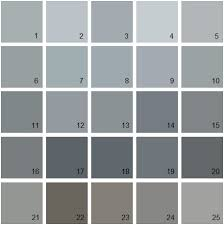 benjamin moore paint colors grayBenjamin Moore Paint Colors  Gray Palette 08  House Paint Colors