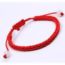 <b>Polyester Kabbalah Red String Braided</b> Friendship Bracelets 27.5 ...