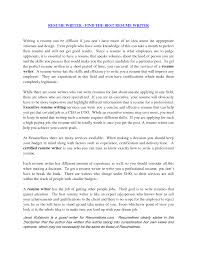 Resume Writer Best Templatewriting A Resume Cover Letter Examples