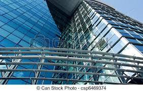 office building facade. Modern Office Building Facade - Csp6469374