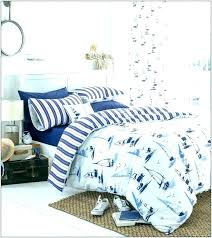 blue striped duvet cover navy and white bedroom royal set