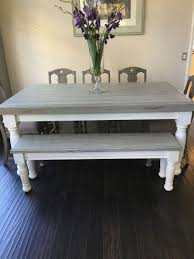 white farmhouse coffee table farmhouse table with light grey base and distressed dark grey top